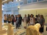 Αρχαιολογικό Μουσείο Ιωαννίνων. Τα μέλη μας ξεναγούνται από την Αρχαιολόγο κυρία Ελένη Βασιλείου.
