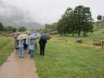 Επίσκεψη στον Αρχαιολογικό Χώρο της Δωδώνης υπό βροχήν!
