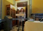 Η Γενική Γραμματέας κ. Ιωάννα Κολτσίδα - Μακρή απευθύνεται στα μέλη που συμμετέχουν στη Γενική Συνέλευση