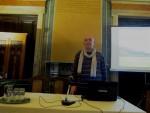 Ο Διευθυντής του Μουσείου, κ. Γ. Κακαβάς κατά τη διάρκεια της ομιλίας του